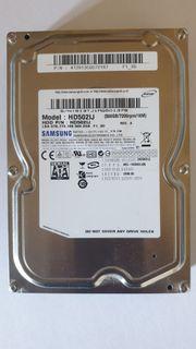 Festplatte Samsung 500GB SATA 7200