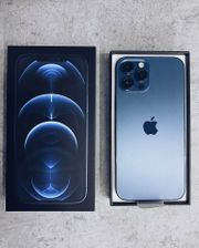 iPhone 12pro Max pazifikblau mit