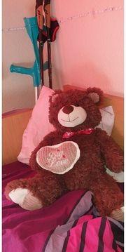 Teddy mit Herz Big Love
