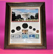 Presidential Coin Stamp Collection