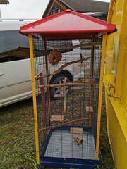 Käfig für Streifenhörnchen Vögel etc