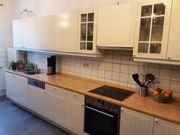 Ikea Küche weiß inklusive Elektrogeräte