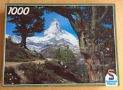 Puzzle 1000 Teile - Bergmotiv