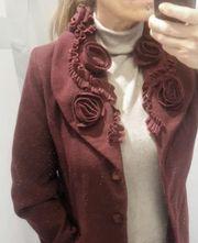 Mantel mit Kleidersack Gr M