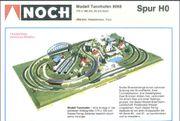 NOCH Modelleisenbahn Fertiggelände Modell Tannhofen