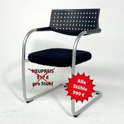 Konferenz-Stuhl Freischwinger 12 Stück