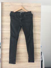 schwarze Jeans für Herren