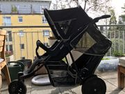 Hauck Geschwisterwagen / Zwillingskinderwagen /