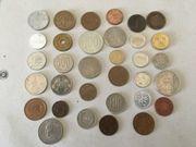 Münzen aus verschiedenen Ländern 33Stück