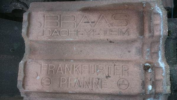 Dachziegel Frankfurter Taunus Pfanne gebraucht
