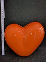 Dekovase in Herzform