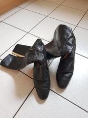 Schwarze Gabor Stiefel