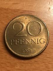 20 Pfennig DDR