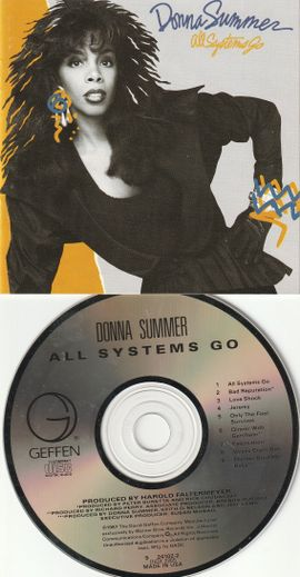 80`s CD Album - Donna Summer - All Systems Go ( Geffen 1987; USA )