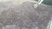 Erde Mutterboden Ausfüllmaterial Erdaushub