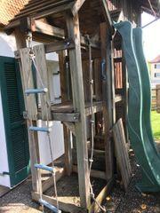 Kinder-Spielturm und Klettergerüst für Garten