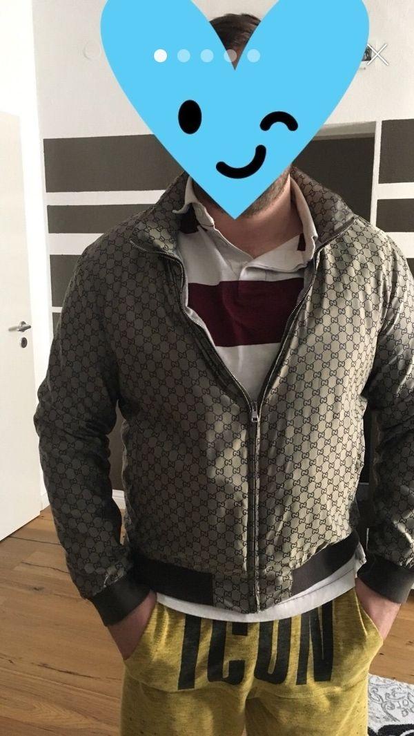 Original Gucci Übergangsjacke » Herrenbekleidung