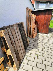 Brennholz Paletten