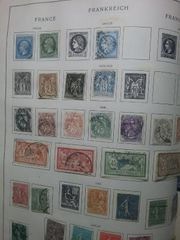 Briefmarken Frankreich 1835-1902
