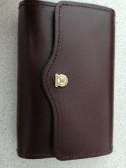 Originale Brieftasche aus Leder