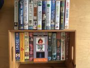 VHS Videokassetten Spielfilme 24 Stück