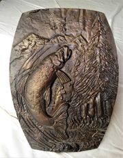 Gussbild aus Bronze