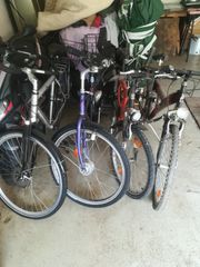 Fahrräder 4 Stück