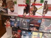 CDs DVDs und Bücher