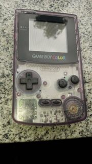 Game Boy Color Chrystal in