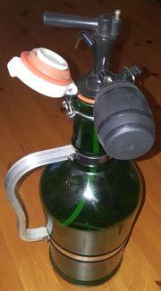 Bierzapfkanne Bierzapfanlage Zapfanlage Flasche mit