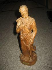 Heiliger Josef Zimmermann Holz-Figur aus