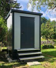 WC-Container Campingplatz Toilette mit Fäkalientank