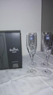 3 Sets Champagnerkelche Belcanto von