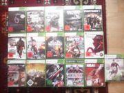 XBox 360 Spiele Sammlung Paket