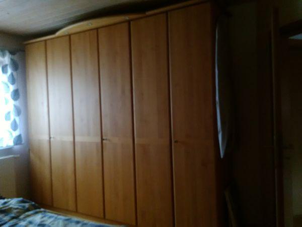 Schlafzimmer aus Erle
