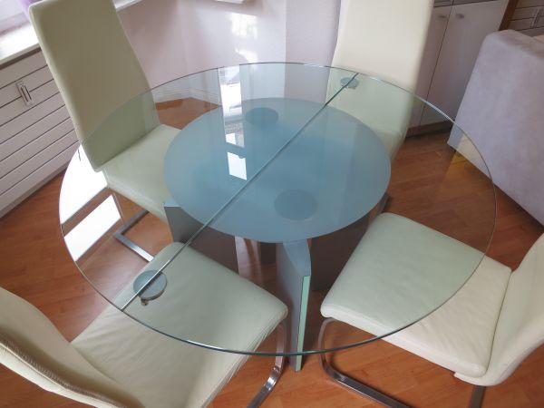ronald schmitt glastisch k750 in stuttgart designerm bel klassiker kaufen und verkaufen ber. Black Bedroom Furniture Sets. Home Design Ideas