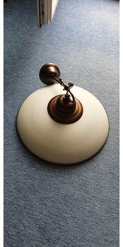 Deckenlampe in Bronze bzw Kupfer