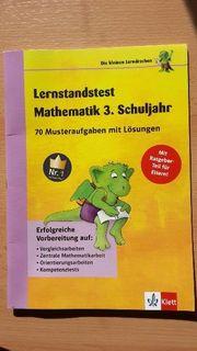 Matheübungsheft 3 Klasse