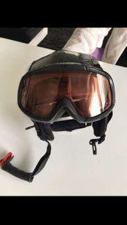 Carrera Skihelm Skibrille