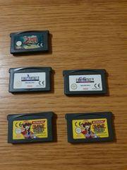Verkaufe meine GBA Spiele