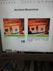 Hochbett Massivholz