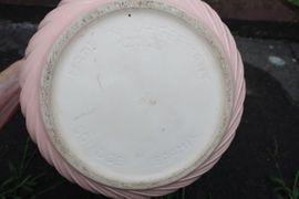 Verkaufe 3 Blumentöpfe Keramik rosa: Kleinanzeigen aus Niddatal - Rubrik Sonstiges für den Garten, Balkon, Terrasse