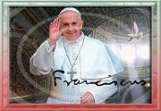 NEU PAPST FRANZISKUS Vatikan Souvenir