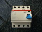 Fehlerstromschutzschalter ABB Typ F204 A