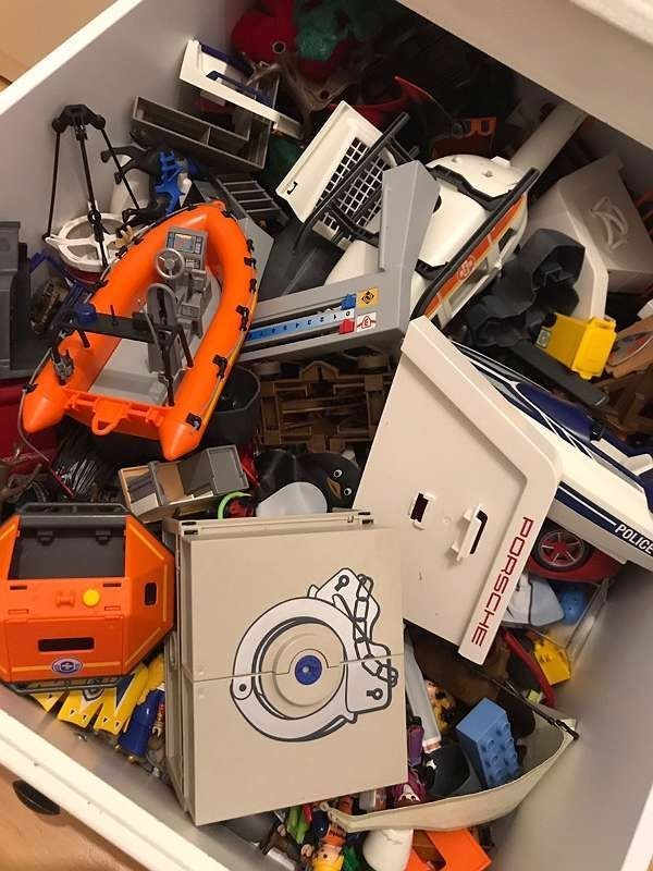 Viele verschiedene Playmobil