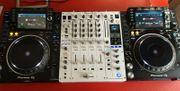 Pioneer DJ Anlage 2x CDJ