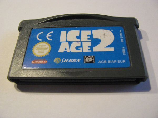 Ice Age 2 Nintendo Gameboy
