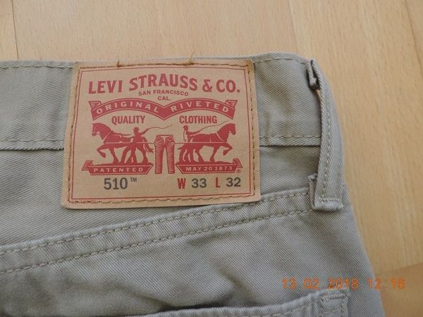 Levis Jeans, Original NEUWERTIG, verschiedene Farben. - Kriftel - Levis Jeans, Original in TOP-Zustand (Fehlkauf, passt nicht).1x in Schwarz 32/301x in Schwarz 32/321x in Schwarz 31/321x Levis-510 Hellbraun 33/32Abzugeben für je 20 Eur, VHB. - Kriftel