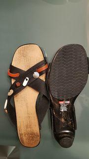 Schicke Leder-Sandalen von Diesel Größe