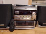 Stereoanlage Philips 3 CD-WECHSLER Radio